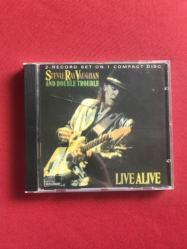 Cd - Stevie Ray Vaughan And Double Trouble - Live Alive