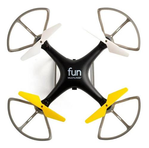 Drone Multilaser Fun Preto/amarelo Es253