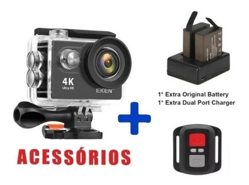 Câmera De Ação Eken H9r 4k Original - Lacrada Na Caixa