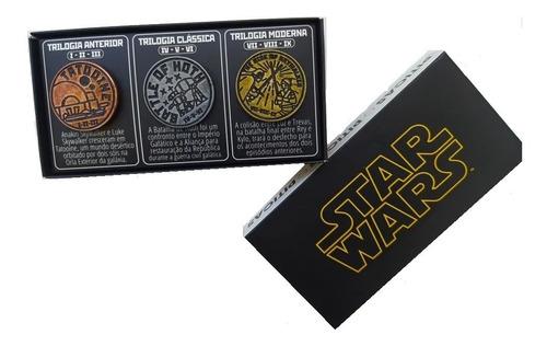 Pin Star Wars Trilogia Original Novo Piticas Serie Limitada