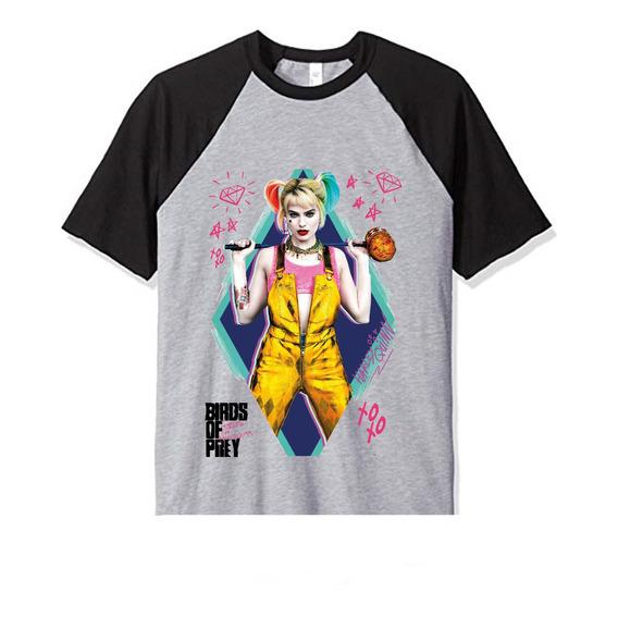 Remera Harley Quinn Birds Of Prey Ave Presa M1 Unisex Adulto