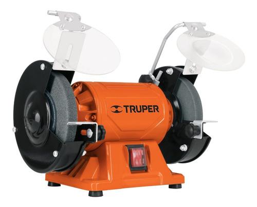 Esmeriladora De Banco Truper Eba-6 De 60hz Naranja 370 W 127 V