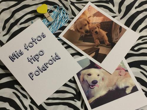Impresión De Fotos Tipo Polaroid X 30 Unidades