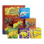 Livro Box C/6 Minha Primeira Biblioteca De Dinossauros
