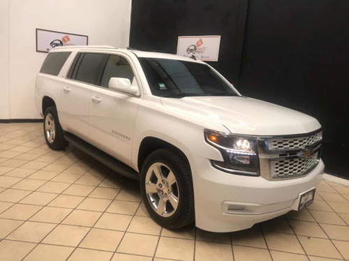Chevrolet Suburban 2016 5.4 Lt Piel Blanca At