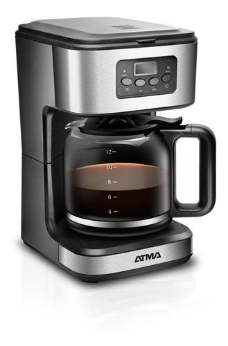 Cafetera Atma Ca8182 Automática Negra De Filtro 220v