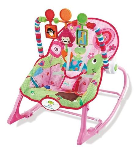 Cadeira Cadeirinha Bebê Descanso Vibra Musical Até 18kg