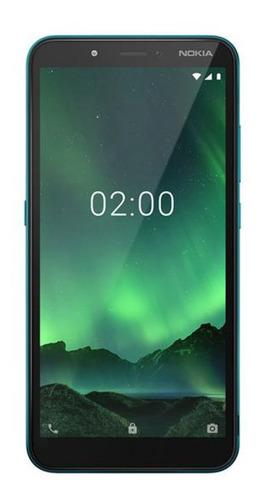 Smartphone Nokia C2 5,7 Pol. Hd+ 32gb Verde Ciano - Nk011