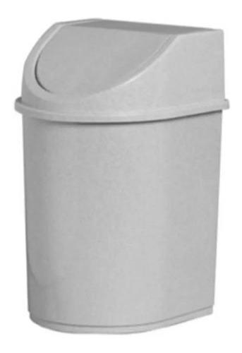 Lixeira P/ Banheiro Pia Cozinha Tampa Basculante 12l Pequena
