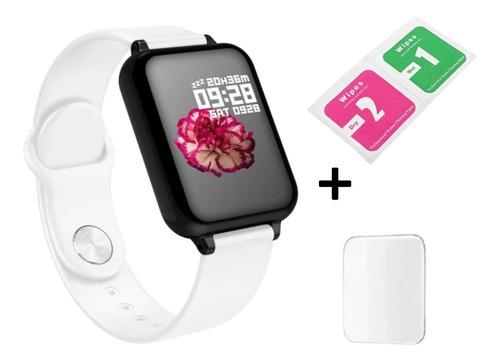 Smartwatch Relógio Inteligente Homens Mulheres Com Película