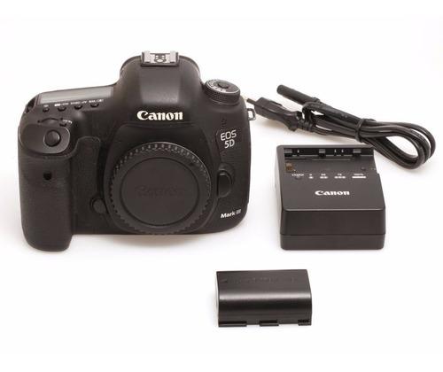 Câmera Canon Eos 5d Mkiii (corpo) Dslr Usada Perfeito Estado