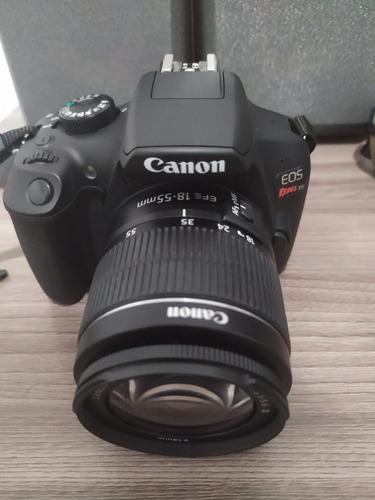 Câmera Canon T6 + Cartão De Memória 64gb + Acessórios
