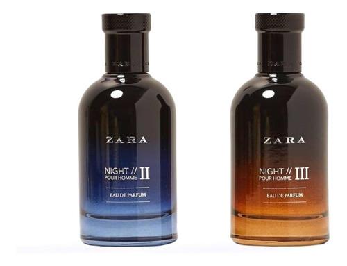 Perfume Zara Night Ii + Zara Night Iii Edp (100 Ml)