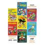 Kit 7 Livros Coleção Clássico Manual Disney Reprodução 1976