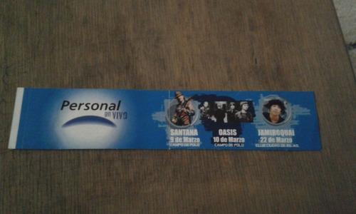 Oasis - Calco  Personal En Vivo  - Campo De Polo 2006