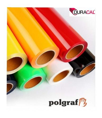 Vinilo Termotransferible Textil Duracal 6mt X 0.50 (polgraf)