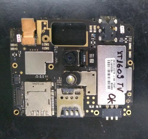 Placa Mãe Principal Moto G4 Play Xt1603 16gb Tv 100% Testada