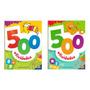 Kit 1000 Atividades É Divertido Aprender 2 Livros De 500