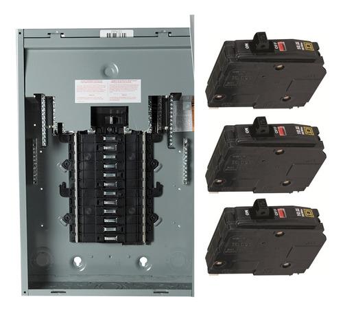 Breaker Eléctrico Tric Qo 1 Polo 15 20 30 40 50 60 Amp S4