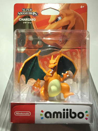 Amiibo Pokemon Charizard Super Smash Bros