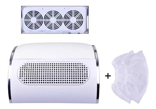 Aspirador Polvo Colector Aspiración Manicura 3 Cooler