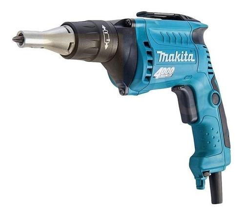 Parafusadeira Elétrica Makita Industrial Fs4000 220v Azul-turquesa