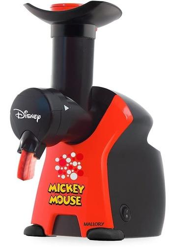 Sorveteira Mallory Mickey Disney Com Livro De Receitas