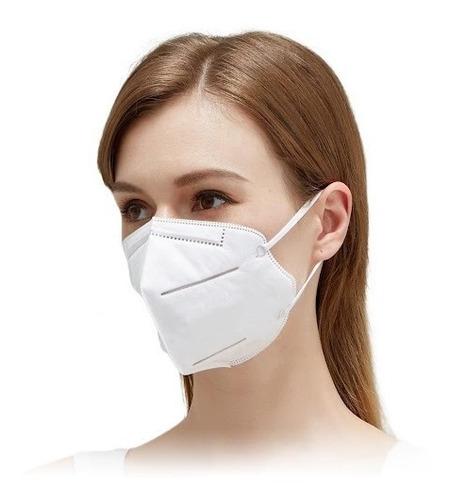 Kit 10 Máscaras De Proteção Reutilizavel N95 Pff2 Clipe Full