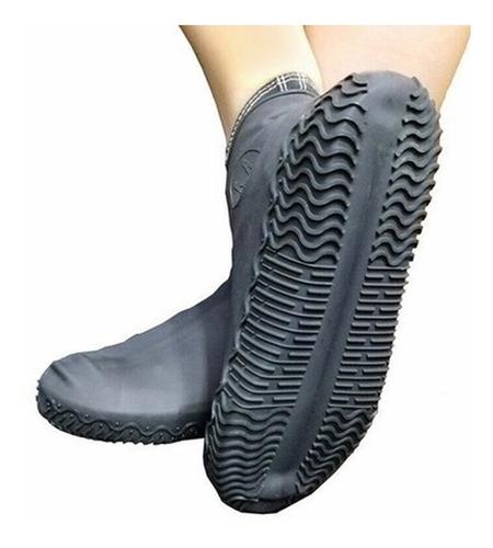 Capa Para Tênis Silicone Chuva Moto Sapato Impermeável C/ Nf