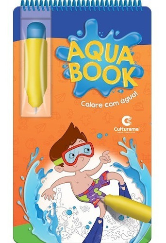 Livro Aquabook Pintar Com Água Educativo Brinquedo
