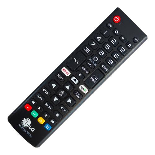 Control Remoto LG Smart Tv Con Netflix Amazon + Funda Y Pila