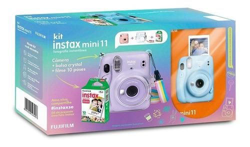 Kit Câmera Instantânea Instax Mini 11 + Case + 10 Filme