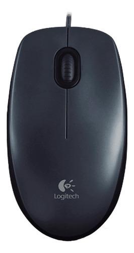 Mouse Logitech  M100 Negro