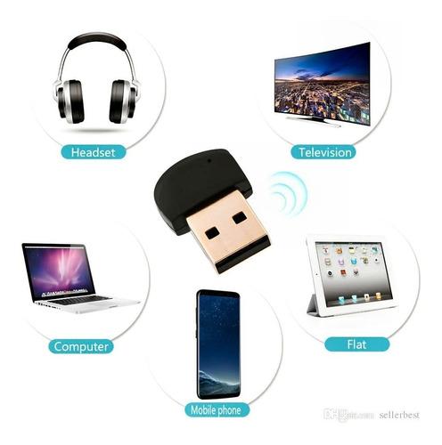 Mini Unidad Usb Bluetooth  Adaptador Audio Transmisor Inalam
