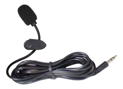 Mini Microfone De Lapela Profissional Plug P2