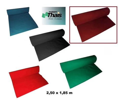 Tecido Pano Mesa Bilhar Sinuca Snooker 2,50 M X 1,85 M