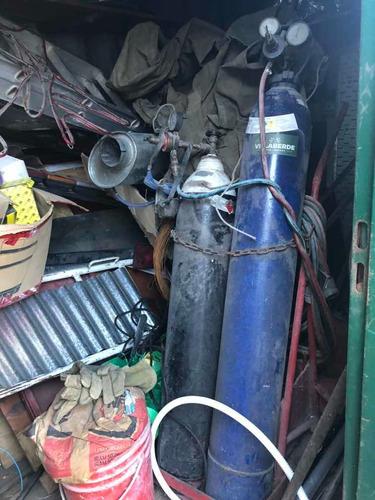 Oxicorte Industrial Con Carro Mangueras Y Arresta Llama