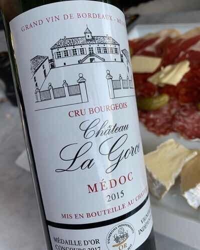 Botella Vino Chateau La Gorce 2015 Francés Importado