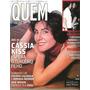 Revista Quem 45/2001 Cássia/lu Gimenez/caetano/bland