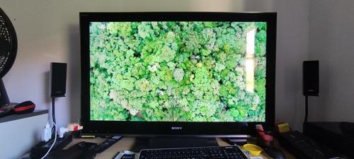 Televisão Sony Bravia Lcd 46 Com Home Theater