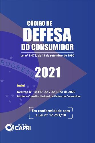 Livro Código De Defesa Do Consumidor De Bolso 2021