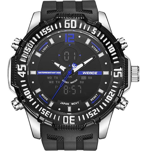 Relógio Masculino Anadigi Weide 10360