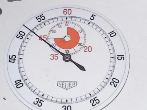 Cronografo Heuer  ,para Repuesto O Reparacion  , Completo