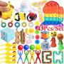 Pop It Fidget Brinquedos 43pcs Silicone Stress Reliever