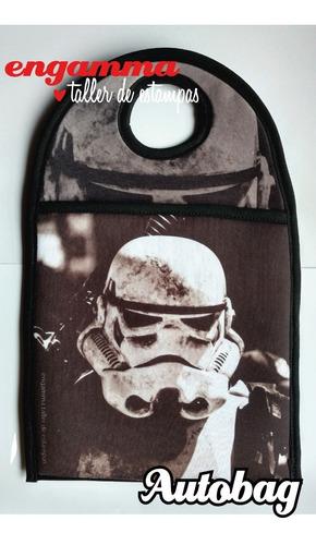 Bolsa Para Auto Star Wars Stormtrooper De Simil Neopren