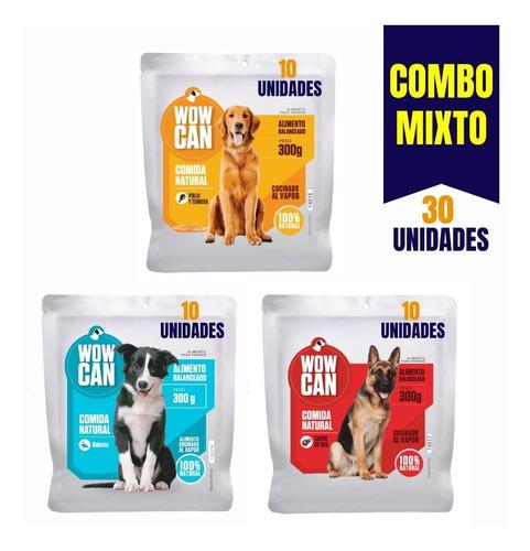 Wow Can Mixto Comida Natural Perros - kg a $14333