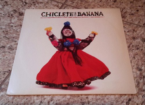 Lp Ciclete Com Banana 1992 -  Cara Caramba Sou Camaleão Original