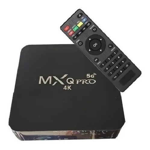 Conversor Smart Tvbox 4gb Ram32gb 5g Android10.1 Wifi9 Hdmi