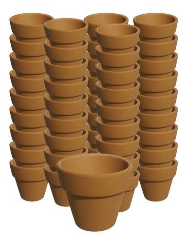 Maceta Ceramica 20 Macetas De Ceramica Barro Macetitas - El