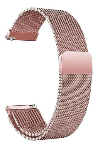 Pulseira Aço Inox Magnética 20mm Amazfit Bip Gtr Gts